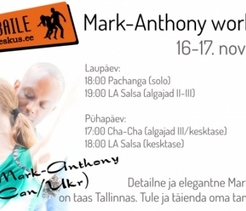 Mark-Anthony workshop 16-17 nov