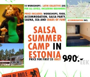 CdB salsa suvelaager  8-9 august