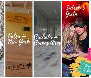 Cuban Salsa & Bachata Sensual Marathon