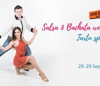 28-29 Okt: Salsa ja Bachata nädalavahetus Tartus