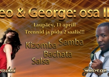 Theo & George: workshopid ja pidu 2 saalis!