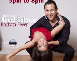 Bachata koreograafia workshop Azaeliga